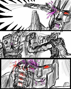 Blood for Blood, Avengers vs Transformers Overlord by Malduki