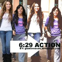 6:29 Action by glamorousart