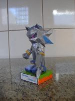 Shadow Android papercraft by augustelos