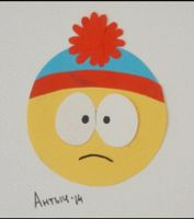 SOUTH PARK Stan Marsh paper animation by Antych