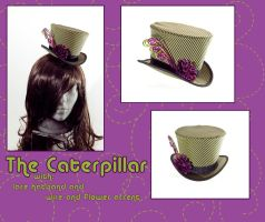 The Caterpillar - Mini Hat by Elemental-Sight