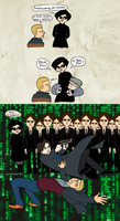 Sherlock Meets The Matrix by Pomegranate-Pen