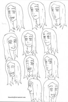 Shanny Expressions 2 by theartistjl