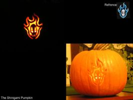 Shinigami Pumpkin by GotenSon