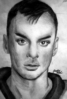 pencil drawing of Shannon Leto by DeadlyAngel-Drawings