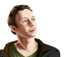 WIP - John Simm by Girl-on-the-Moon