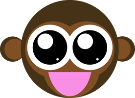 Vector - Monkey by cooldude2222