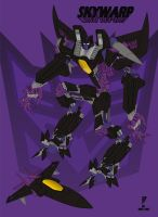 Skywarp by MannWulf