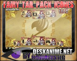 Erza Pack Icons by Danrockster