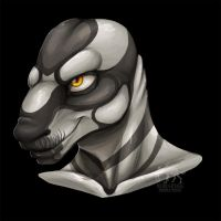 Javan Suntry Bust by WeirdHyena by JerreyRough