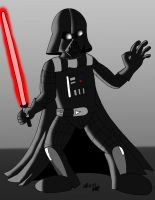 Darth Vader by JimmyCartoonist