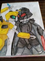 Metabee vs Vader by LordVaderNihilus