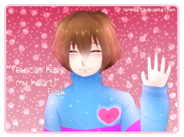 Frisk (Happy Valentine's Day!) by remiNISE123