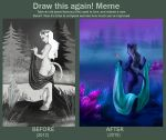 Before And After by MadAlleyCat