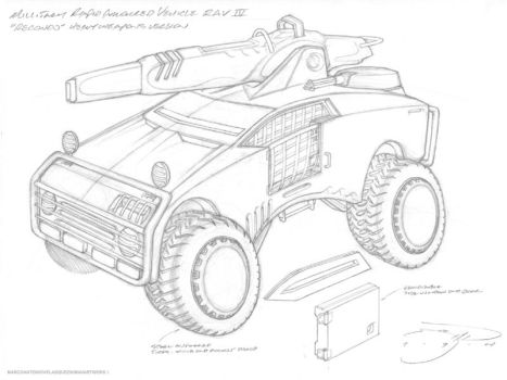 RAV Recondo vehicle by mavartworx