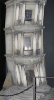diagonally film set  harry potter studio gringotts by Sceptre63