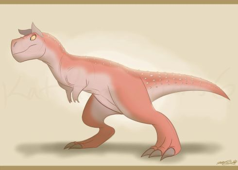 Definitely Not Our Dino by katproductions6