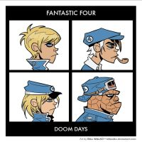 Fantastic Four - Doom Days by BillWalko