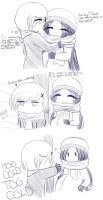 Month 8-Is it Too Cold? by MissMayHirai