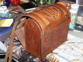 potion case wip 1e by MerrillsLeather