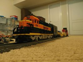 Lego BNSF Train by railguy365