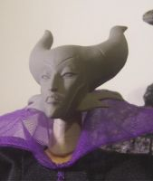 Disney's Maleficent Headsculpt by cbgorby