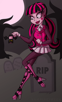 In the Graveyard by catlikeacat