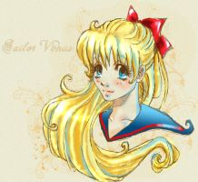 Sailor Venus by IrenaHell
