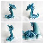 Turquoise Dragon - 2 by vavaleff
