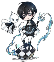 ::chibi for bellforge:: by rann-poisoncage