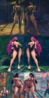 USF4 Mod - Poison: Jade Hentai Cosplay by Segadordelinks