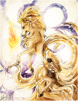 NINETALES .:1 Advent Fire:. by WhiteSpiritWolf