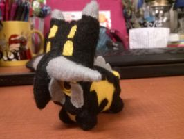 Simplified Bastiodon Plush by Vulpes-Canis