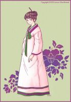 in hanbok by yuzukko