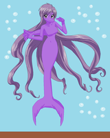 Purple Dolphinmaid by Dinalfos5