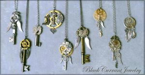 Celestial Keys III by blackcurrantjewelry