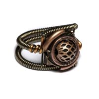 Steampunk Copper Ring by CatherinetteRings