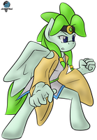 Green Storm Clothed by GamefreakDX
