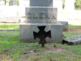 Confederate Grave III by BlutEisen