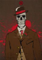 Nucky Skull Thompson by fR3AKZO1D