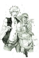 L4D - Smorge and Louis by Sardiini