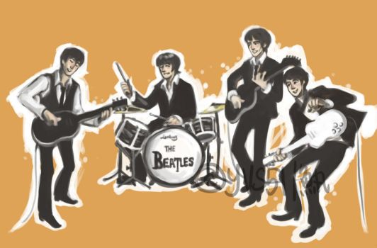 THE BEATLES by YVS51