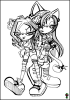 Martyna and Sara :Collab: by Martyna-Chan