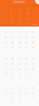 Line Icons Set by Nemed