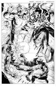 Avengers 34 pg 27 by MarkMorales