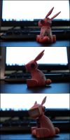 Pink Bunny by KL45H