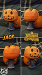 Animal Crossing Papercraft ~ Jack (Halloween)~ by SuperRetroBro