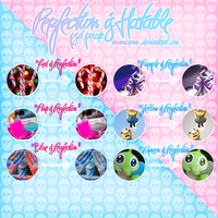 Perfection is Hatable PSD Pack by ImUnicornn