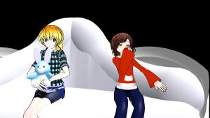 MMD Newcomers: Sofia and lily by MochaMonet