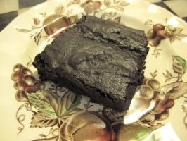 Cacao-Pow Brownie 1 by Windthin